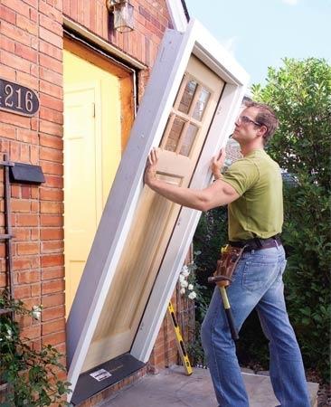 Entrance And Garden Door Installation