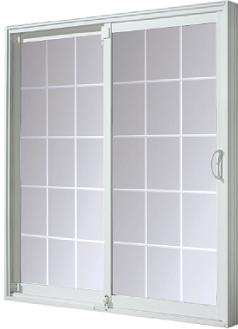 Power Smart Windows And Doors Sliding Vinyl Patio Doors