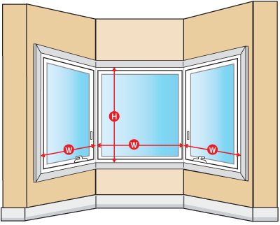 Existing Walk Out Bay Or Bow Windows Without Head And Seat